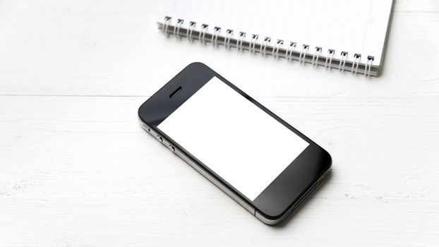 cellphone with notepad