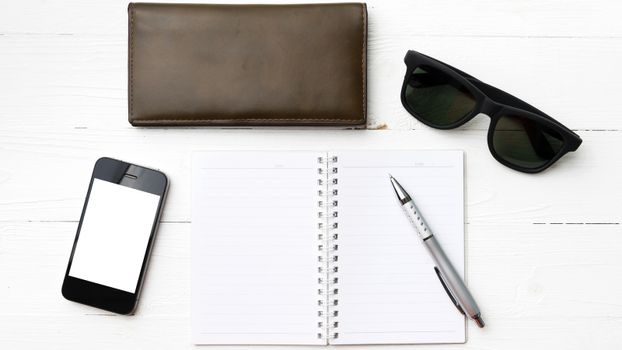 notepad with gadget