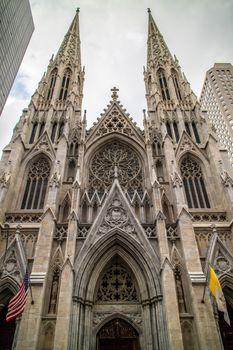 Saint Patrick Cathedral Manhattan New York