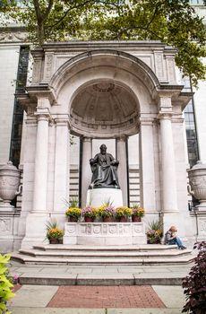 William Cullen Bryant Statue New York Manhattan
