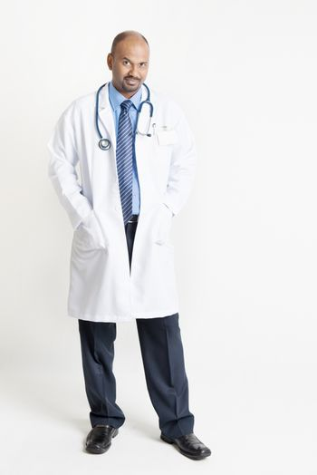 Mature Indian doctor full body