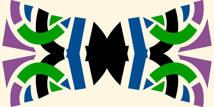 Abstract Bowtie Shape