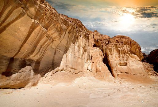 Mountains of canyon