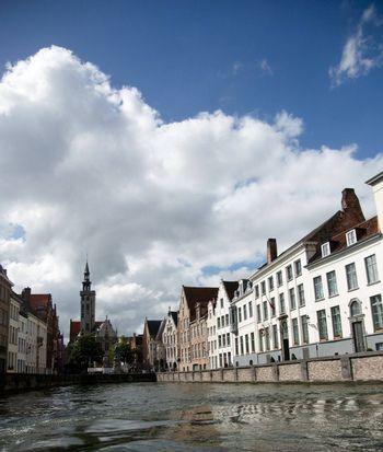 Brugge city in Belgium - beautiful tourism destination in Europe