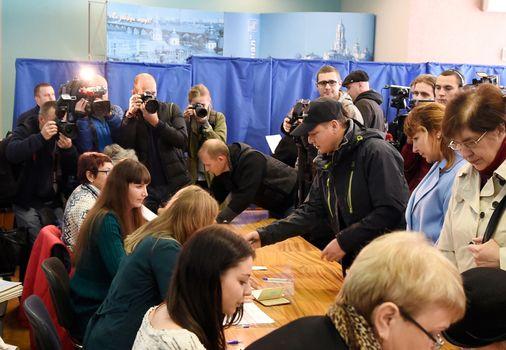 UKRAINE - ELECTION - VOTE