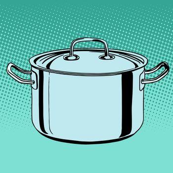 metal saucepan cookware