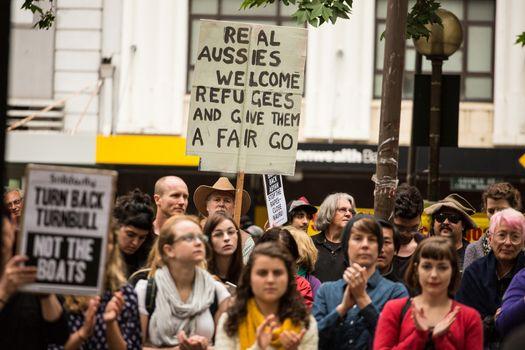 SYDNEY - BRING BACK ABYAN - REFUGEE PROTEST