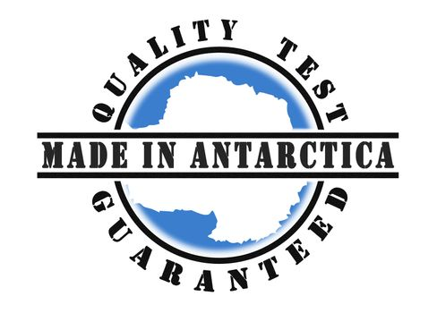 Quality test guaranteed stamp
