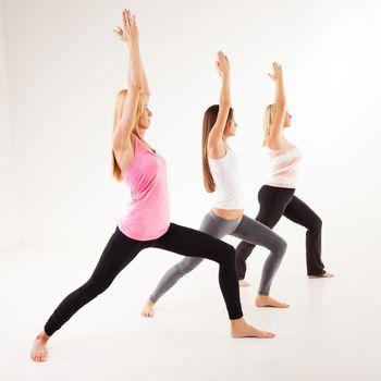 Yoga Virabhadrasana I Warrior Pose