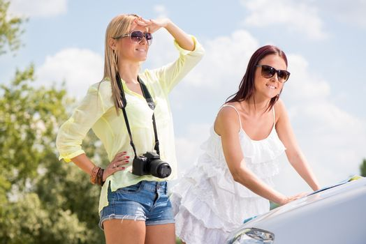 Young Female Tourists