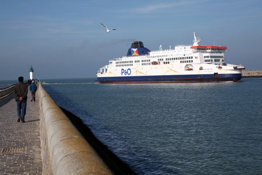 FRANCE - DFDS - TRANSPORT - MARITIME - CHANNEL
