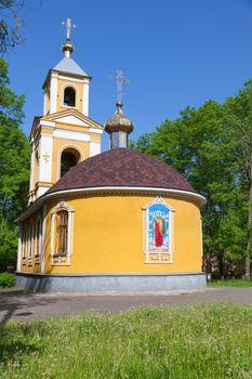 orthodox church of all Saints.