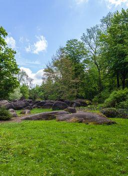 rocky boulders