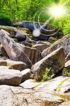 large rocky boulders