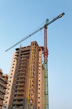 built high-rise house