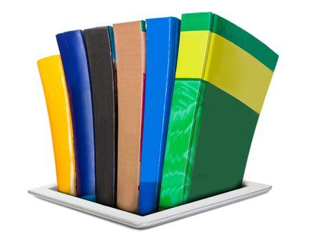 all the necessary literature in e-books