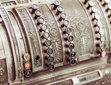 cash register close-up