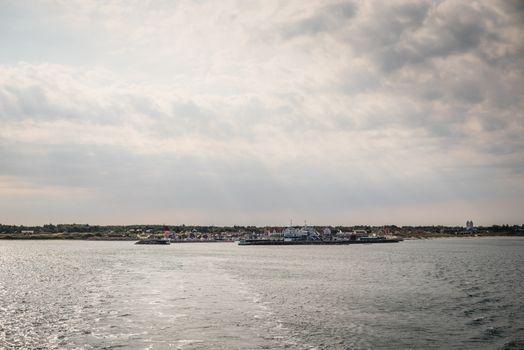The island of Læsø in Denmark
