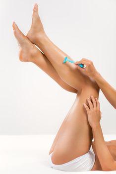 Depilation leg