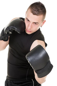 Uppercut punch