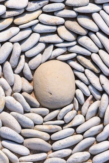 Lot of small pebbles