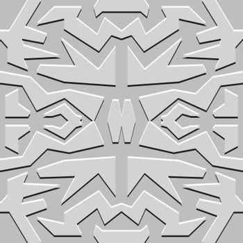 grey square abstract monochrome vector seamless wallpaper
