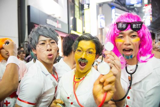 JAPAN - CULTURE - HALLOWEEN