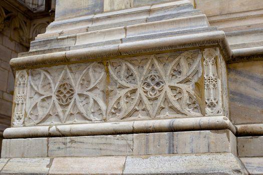 Milan Cathedral decoration