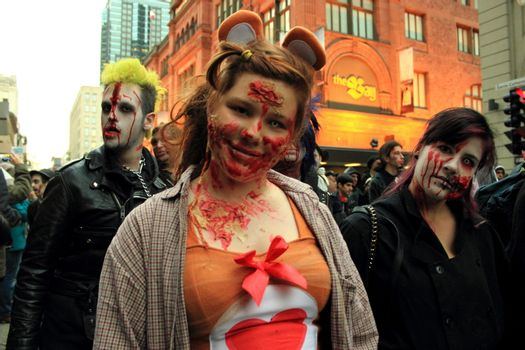 MONTREAL - ZOMBIES - CULTURE