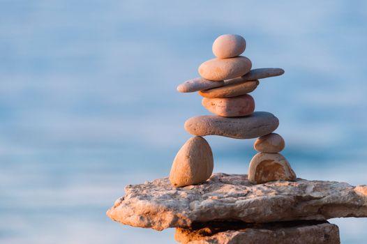 Figurine of Inukshuk of stones