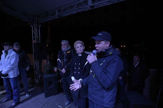 UKRAINE - POLITICS - OPPOSITION - GOVERNMENT