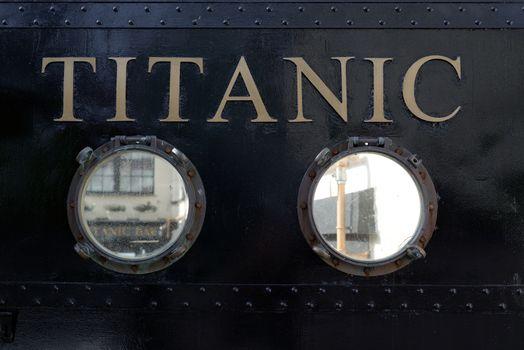 titanic visiting centre in cobh county cork ireland