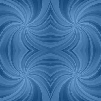 Azure spiral pattern background