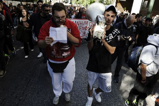 Greece: Students cry out against education cuts in Athens