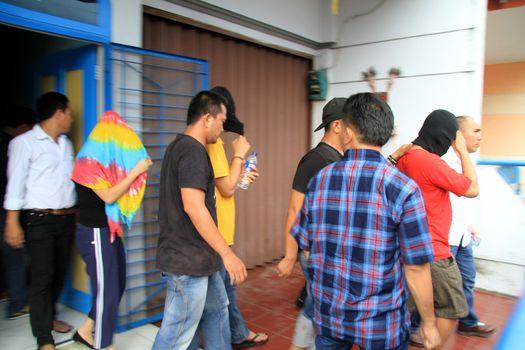 INDONESIA - CRIME - MASSIVE DRUG BUST