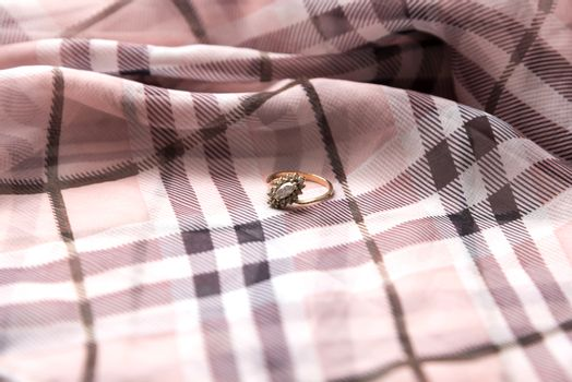 ring on scarf