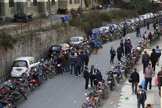 NEPAL - TRANSPORT - FUEL