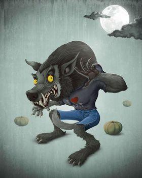 Halloween Wolfman
