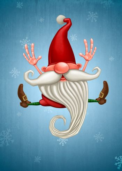 Happy Christmas elf
