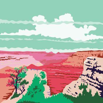 Grand Canyon Arizona WPA