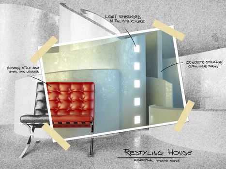 modern architecture for restyling project