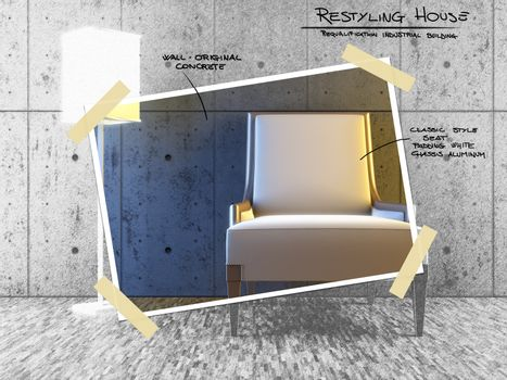 Restyling house project