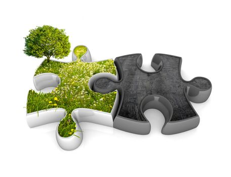 Environment jigsaw puzzle