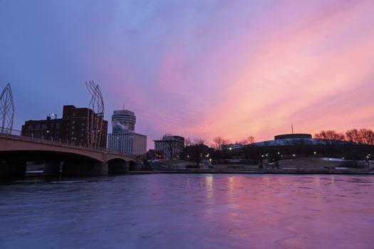 Sunrise in Wichita