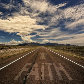Road With the Word Faith