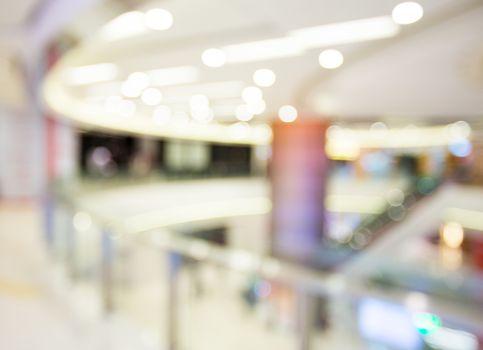Defocus of shopping store