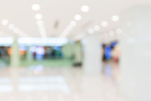 Defocus of Shopping plaza for background usage