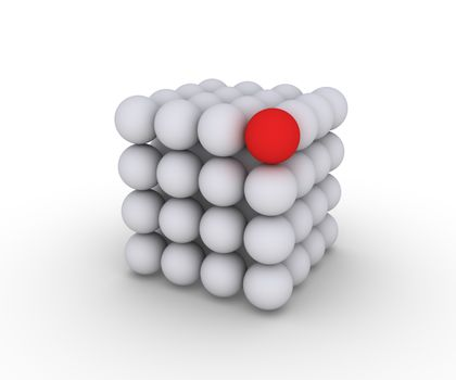 Unique sphere and cube construction