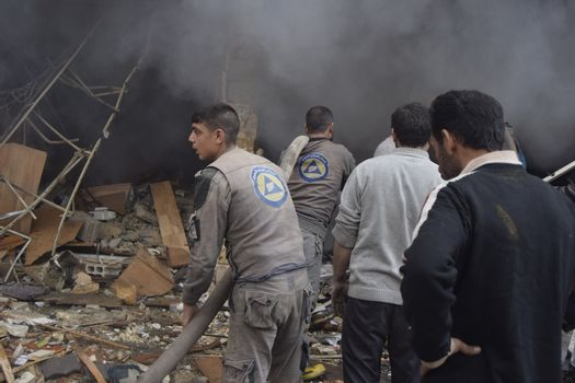SYRIA - DAMASCUS - BLAST