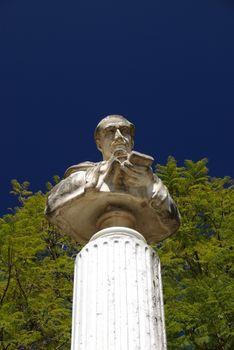 Statue in Antigua, Guatemala